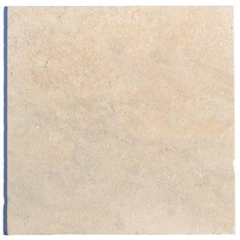 Dalle pierre TRAVERTIN 1er choix 61 x 61 cm