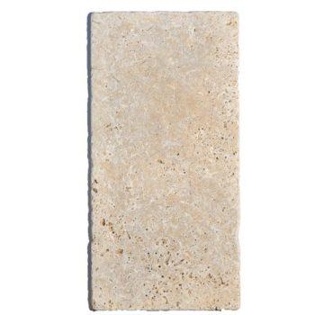 Dalles pierre TRAVERTIN rustic 40,6X20,4