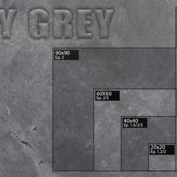 Dalle pierre MILLEY GREY