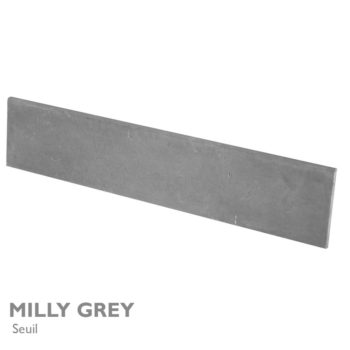 Seuil et margelle MILLY GREY 200 x 40 cm