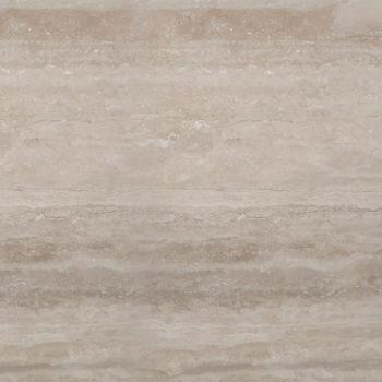 Dalle Travertin Vein cut Adouci 61 x 61 x 1,2 cm