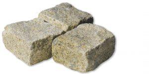 Pavé pierre Granit Jaune