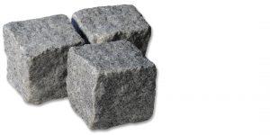 Pavé pierre Granit Gris